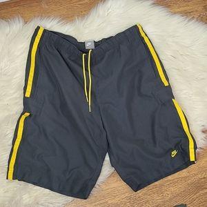 Mens vintage nike drawstrins shorts large
